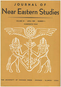 Journal of Near Eastern Studies (Vol 42, April 1983, No. 2)