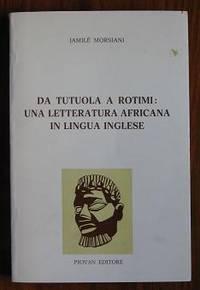 Da Tutuola a Rotimi: Una Letteratura Africana in Lingua Inglese