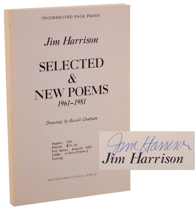 New York: Delacorte Press, 1982. First edition. Softcover. Uncorrected proof. A near fine copy with ...