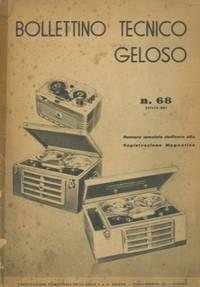 Bollettino tecnico Geloso n° 68. Dedicato alla registrazione magnetica.