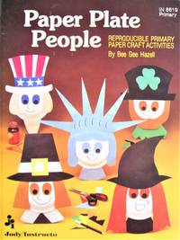 image of Paper Plate People. Reproducible Primary Paper Craft Activities