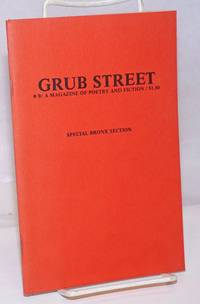 image of Grub Street: a magazine of poetry and fiction; #9: Special Bronx Section