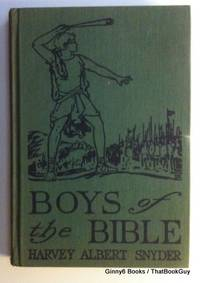 Boys Of The Bible Told In Simple Language