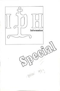 IPH Information Special, Mai 1979.