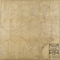 [TEXANA]. The Texas and Oklahoma Official Railway & Hotel Guide Map, WITH THE RARE BOOKLET