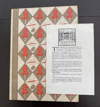 The Praise of Folie. Moriae Encomium. A Booke Made in Latin by that Great Clerke Erasmus Roterodame. Englished by Sir Thomas Chaloner, Knight. Anno M.D.XLIX : With The Printer's Prospectus
