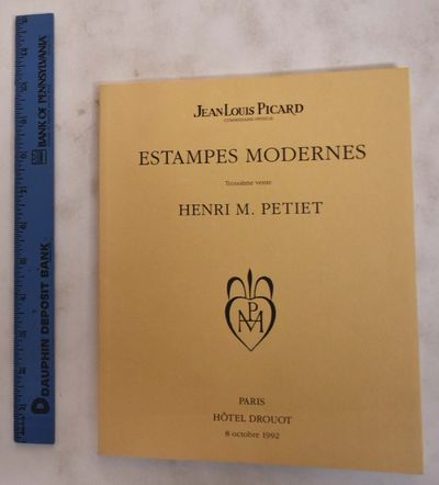 Paris, France: Jean-Louis Picard, 1992. Softcover. VG. glued, tan wrappers w/ black printing & emble...