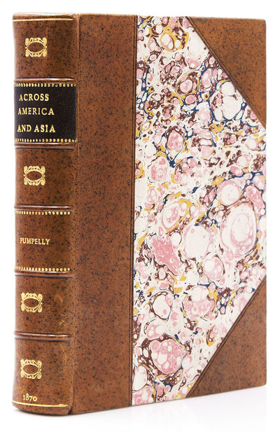 New York: Leypoldt & Holt, 1870. Third edition, revised. 4 maps (3 folding and one in color), 12 pla...