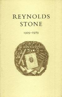 Reynolds Stone, 1909-1979: an Exhibition Held in the Library of the Victoria and Albert Museum From 21 July to 31 October 1982