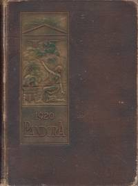 1920 Pandora. Published Annually By the Senior Class of the University of Georgia