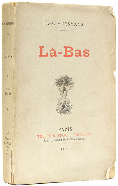 Paris: Tresse & Stock, 1891. First edition. 1 vols. 12mo. Original printed wrappers, uncut. Some cre...