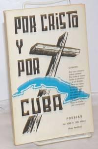 image of Por Cristo y Por Cuba: Poesias