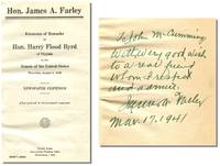 EXTENSION OF REMARKS OF HON. HARRY FLOOD BYRD OF VIRGINIA IN THE SENATE OF THE UNITED STATES:...