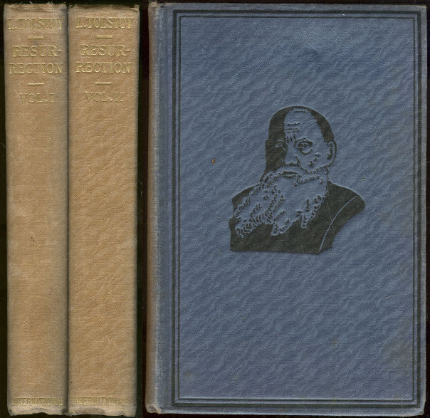 RESURRECTION Two Volumes, Tolstoy, Leo