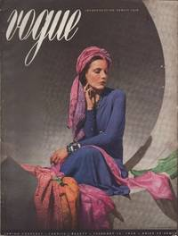 image of Vogue Magazine, February 15, 1938 Spring Forecast - Fabrics - Beauty