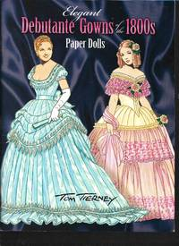 Elegant Debutante Gowns of the 1800s Paper Dolls