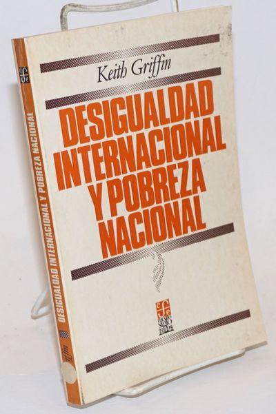 Mexico City: Fondo de Cultura Economia, 1984. Paperback. 229p., wraps, charts, tables, 5.5 x 8.25 in...