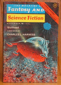 The Magazine of Fantasy and Science Fiction 1977, 12 books Januar thru December (includes PALE BROWN THING and WOLFHEAD)