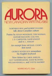 image of Aurora: New Canadian Writing 1980