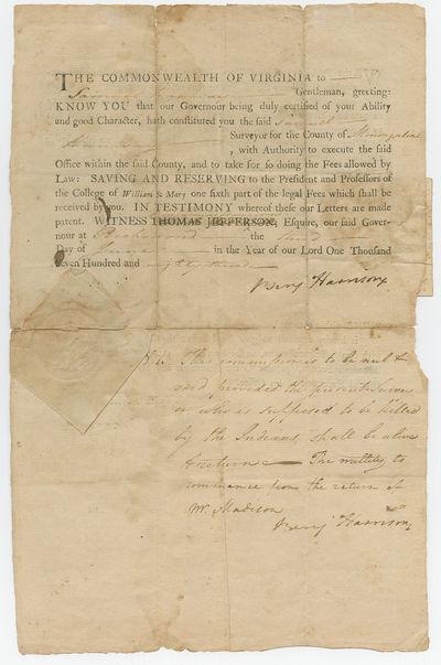 Declaration Signers Benjamin Harrison...