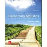image of Elementary Statistics: A Brief Version