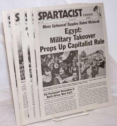 Toronto: Spartacist League, 2012. Magazine. Six issues. All printed on newsprint, 8.5x11 inches in m...
