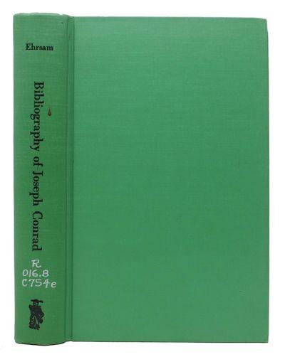 Metuchen, N.J.: The Scarecrow Press, 1969. 1st Edition. Original green publishers cloth, black lette...