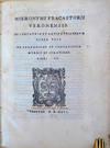View Image 1 of 3 for De sympathia et antipathia rerum liber unus. De contagione et contagiosis morbis et curatione libri ... Inventory #45020