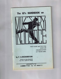 image of The G.I.'s Handbook on Military Injustice; Why Rank and File G.I.'s Need an Organization of Their Own