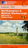 image of Northampton and Market Harborough (Explorer Maps)