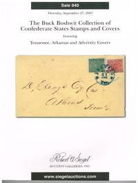 The Buck Boshwit collection of CSA stamps and covers