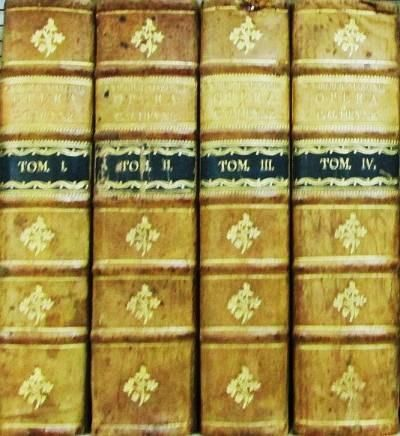 Leipzig: Caspar Fritsch, 1789. First edition thus. Calf & Boards. Very Good. Four volumes, thick oct...