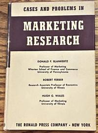 image of Cases and Problems in Marketing Research