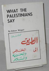 image of What the Palestinians Say