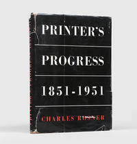 image of Printer's Progress. A Comparative Survey of the Craft of Printing 1851-1951.