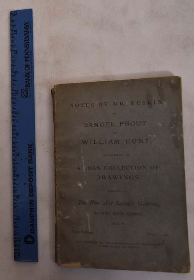 London: Fine Art Society, 1880. Paperback. VG- light overall wear and discoloration to wraps.. Gray ...