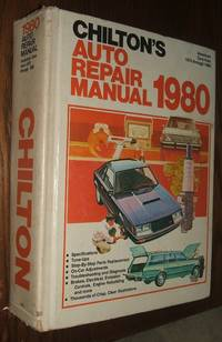 image of Chilton Auto Repair Manual, 1980 American Cars from 1973-1980