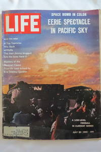 LIFE MAGAZINE   JULY 20  1962 H BOMB TESTS COVER