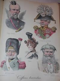 Album de Coiffures Travesties Troisieme Serie.  Modeles de la Coiffure Francaise Illustree 1889 - 1907