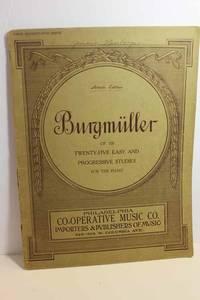 Burgmuller OP. 100, Twenty-Five Easy and Progressive Studies for the Piano