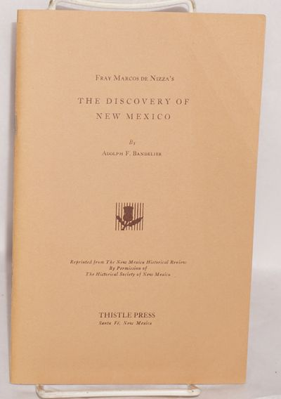 Santa Fe: Thistle Press, 1979. 26p., 5.5x8.5 inches, bookplate otherwise very good limited edition r...