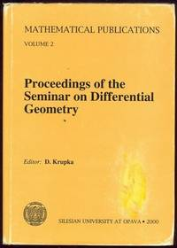 PROCEEDINGS OF THE SEMINAR ON DIFFERENTIAL GEOMETRY
