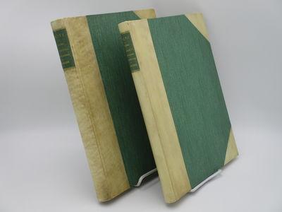 Stuttgart. : Alfred Kernen., 1913 . Half natural vellum over green cloth, green spine labels with gi...