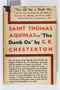 St. Thomas Aquinas by Chesterton, G. K - 1933