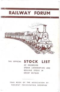 A.R.P.S. Stock List and Year Book