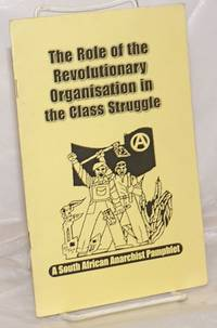 image of The Role of the Revolutionary Organisation in the Class Struggle