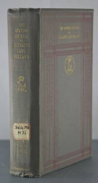 The Spanish Journal of Elizabeth Lady Holland