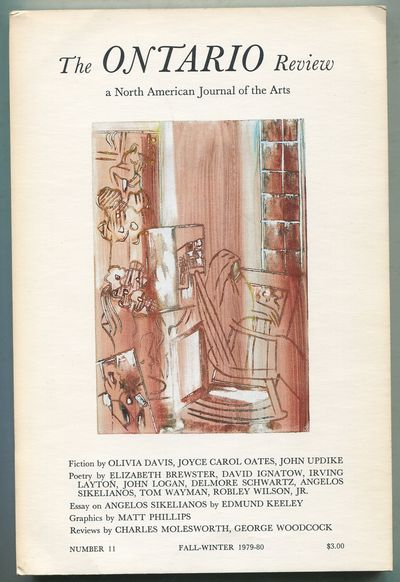 Ontario, Canada: The Ontario Review, 1979. Softcover. Fine. First edition. 116pp. Pictorial white wr...
