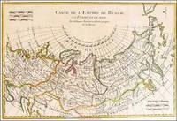 Carte De L'Empire de Russie en Europe et en Asie, Rigobert Bonne, ca.1780 by Rigobert Bonne - 1780