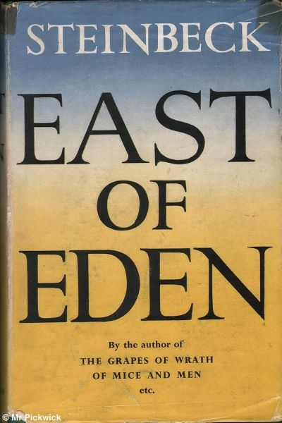 east of eden by john steinbeck essay Read this english essay and over 88,000 other research documents east of eden by steinbeck when a person goes through life, one of the major factors that affect a.